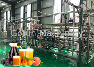 Good Quality Fruit Processing Line & 20 T / Hour Fruit Juice Processing Machines High Juice Yield For A Variety Fruits on sale