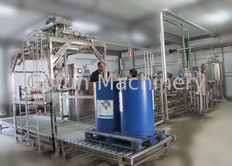 Good Quality Fruit Processing Line & Mango paste / pulp processing plant SS 304 PET bottle 3 in 1 filling equipment on sale