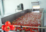 China Stainless Steel 380V Vegetable Processing Line Tomato Processing Equipment company