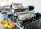 China SS304 Turnkey Citrus Processing Line Automatic Orange Juice Processing Equipment 10T/H company