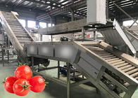 China Food Grade SS304 Tomato Crushing Machine Tomato Paste Processing Line 12 Months Warranty company