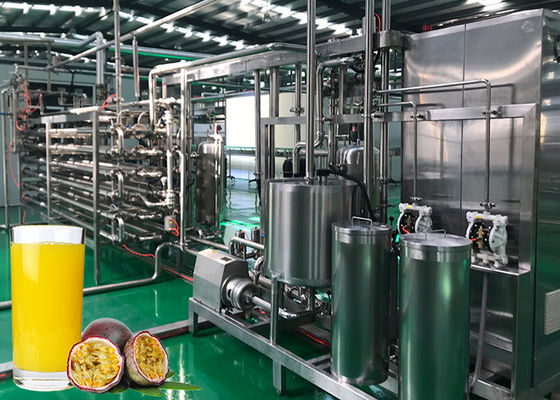 China High Efficiency Passion Fruit Juice Extraction Machine ISO9001 Certification factory