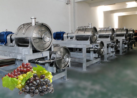 China Industrial Grape Juice Processing Line Beverage Making Machine Energy Saving factory